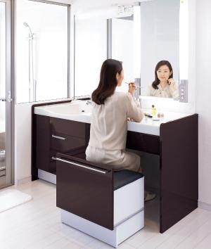 洗面台化粧