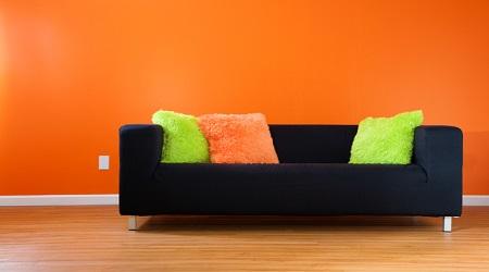 壁紙オレンジリフォーム
