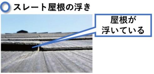 火災保険のスレート屋根コロニアル