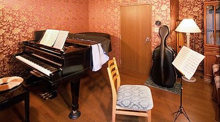地下室音楽スタジオ