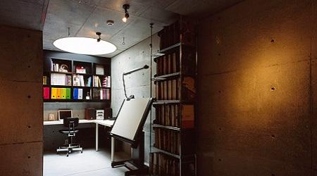 地下室書斎
