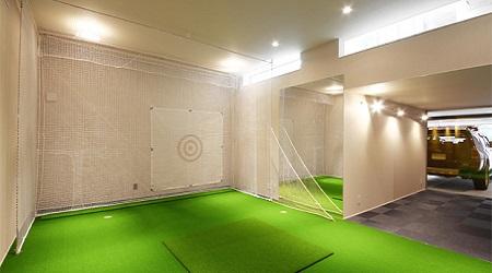 地下室趣味ゴルフ