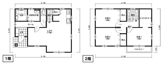 1000万円で家を建てる間取り