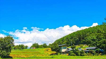 畑や田んぼに家を建てる