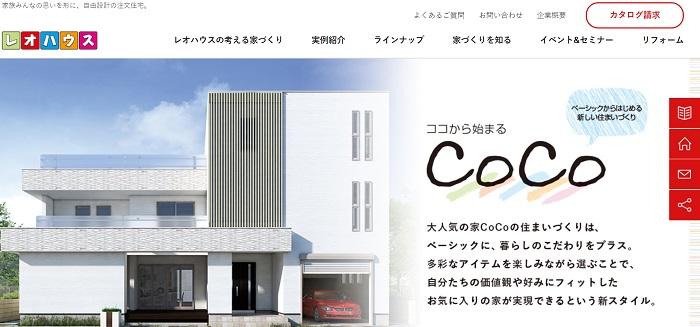 ローコスト住宅メーカーレオハウス