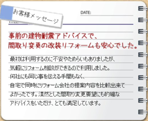 タウンライフリフォーム評判