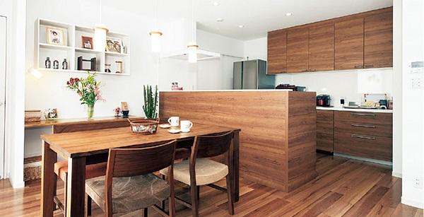 パナホーム平屋キッチン