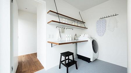 パナホーム注文住宅間取り洗濯室