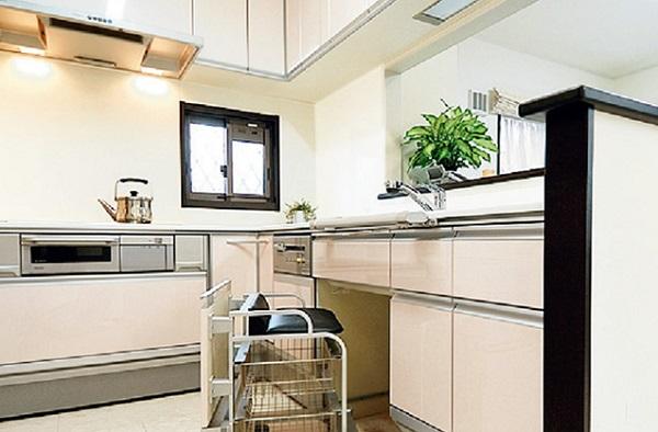 パナホーム平屋間取りキッチン