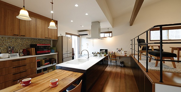 パナホームの平屋間取りキッチン