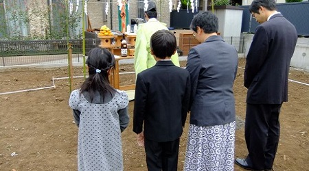 子供地鎮祭服装