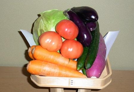 地鎮祭お供え物野菜