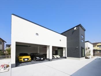 ガレージハウス平屋