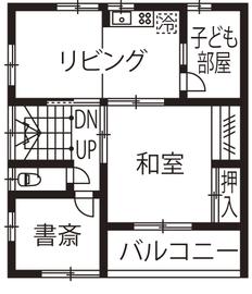 注文住宅屋根裏部屋間取り図