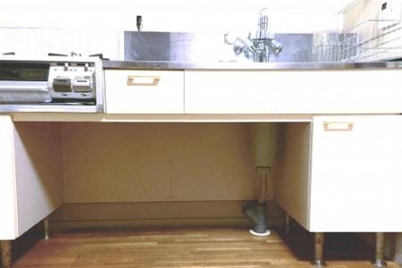 キッチン高さ調整バリアフリー
