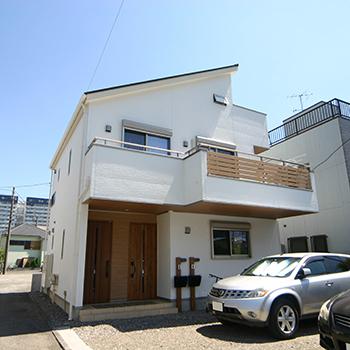 二世帯住宅坪単価70万円の注文住宅