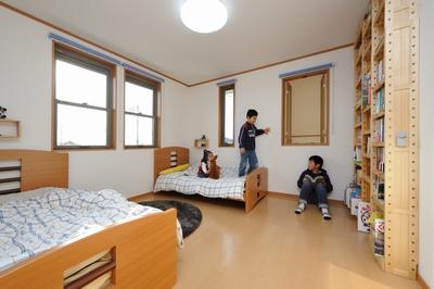 8畳子供部屋間取りレイアウト