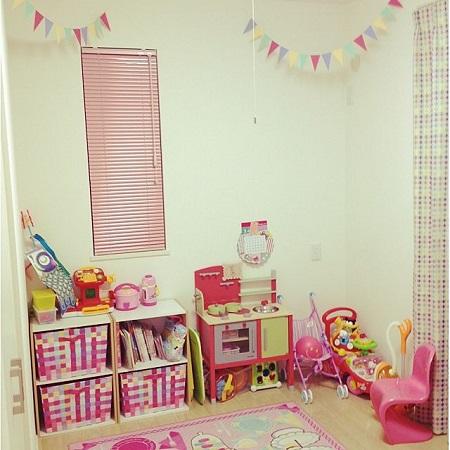 子供部屋4畳女の子