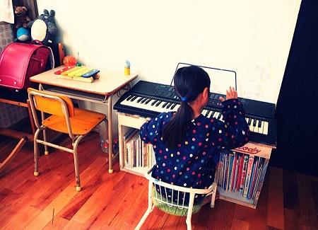 子供部屋ピアノ6帖