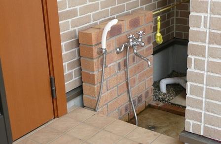 犬と暮らす家間取り脚の洗い場