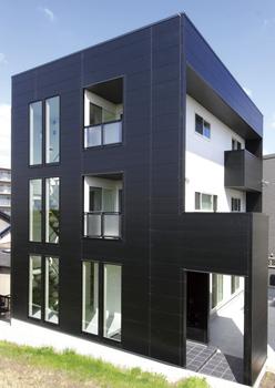 3階建て窓