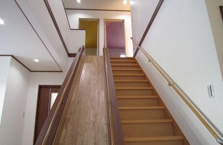 滑り台2階からの事例
