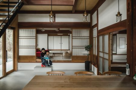 土間日本家屋
