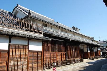 日本家屋格子戸