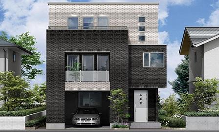 木造3階建て注文住宅