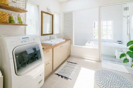 注文住宅洗面所