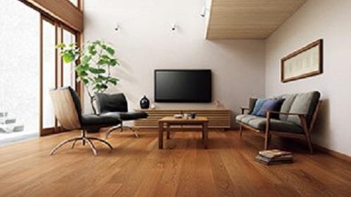 注文住宅床の色ダーク系