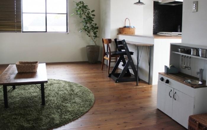 注文住宅の床の色