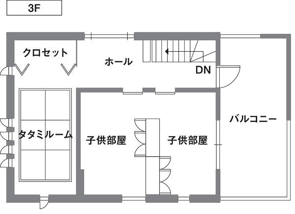 セキスイハイム3階建て事例