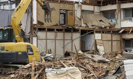 家建て替え解体