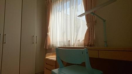 子供部屋窓