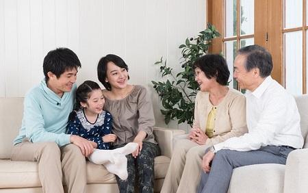 二世帯住宅両親