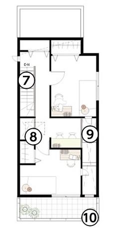 大和ハウス3階建て