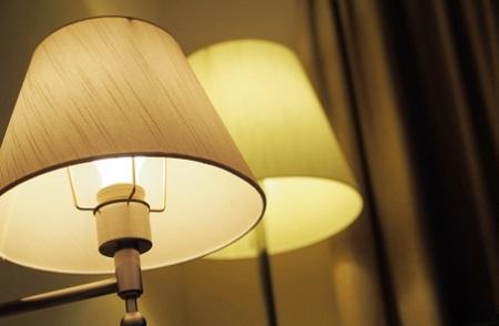 家相ライト寝室