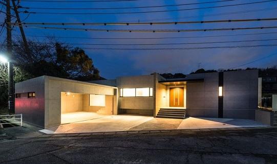 鉄筋コンクリート平屋