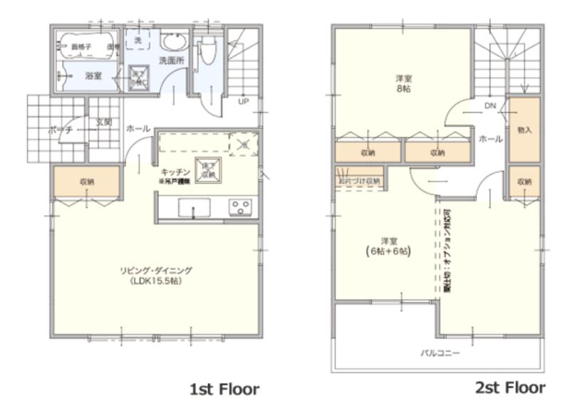 25坪 2階